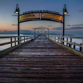 White Rock Pier by Peter Murphy - Buildings & Architecture Bridges & Suspended Structures