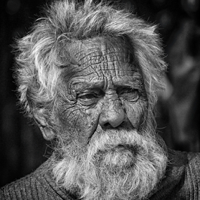 Old is Gold by Debajit Bose - People Portraits of Men ( white beard, indian, wrinkel, old man, people, portrait, man,  )