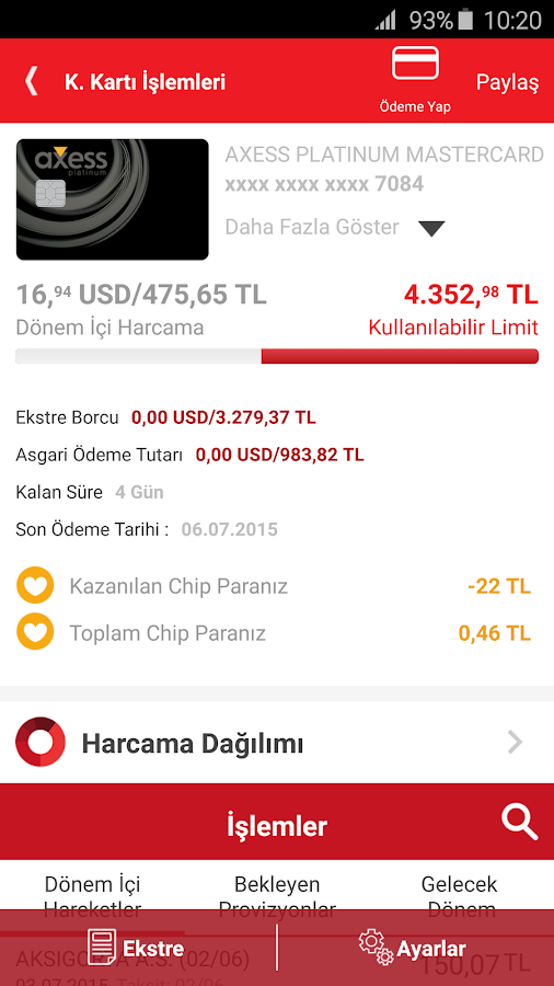 Akbank Direkt Screenshot 2