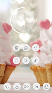 Heart-shaped dessert theme can - screenshot