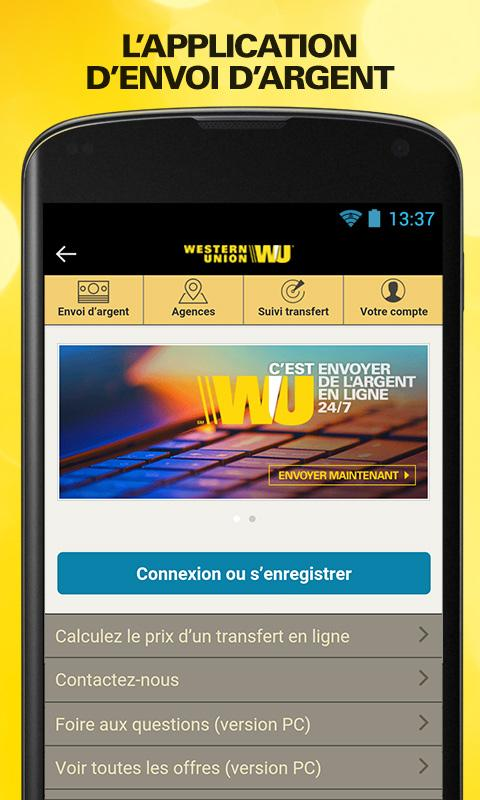 Send money with Western Union Screenshot 0