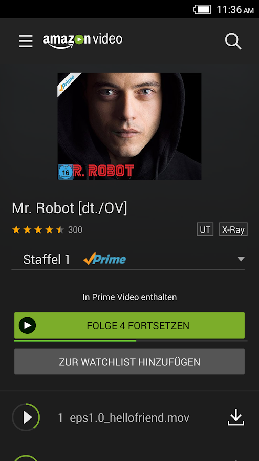 Amazon Prime Video android apps download