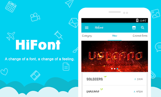 App HiFont - Cool Font Text Free APK for Windows Phone