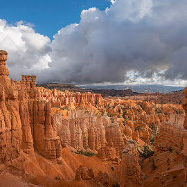 Thor's Hammer by Jeff Fahrenbruch - Landscapes Mountains & Hills ( national park, bryce canyon national park sunset point, bryce canyon national park, utah, bryce canyon national park thor's hammer )