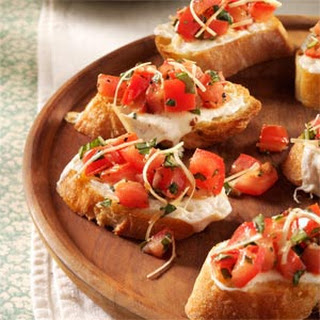 Fresh Tomato Bruschetta