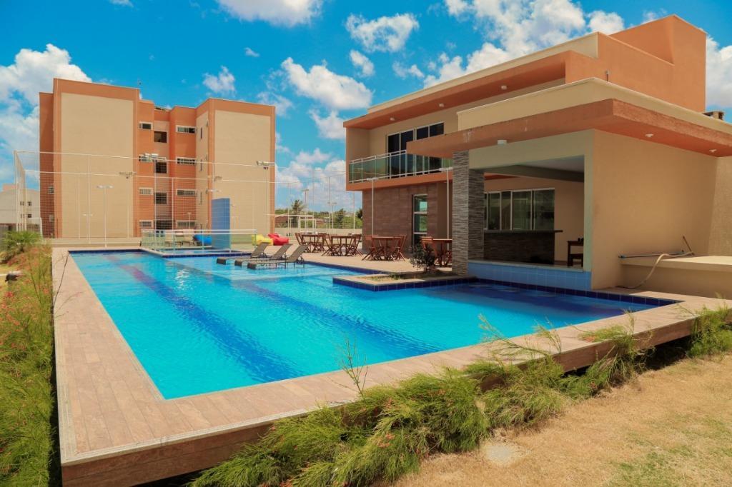 Apartamento com 2 quartos à venda, 51 m² , novo, financia - Curicaca - Caucaia/CE