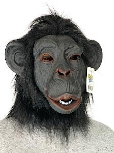 """Маска карнавальня Шимпанзе, серия """"Хеллоуин"""""""