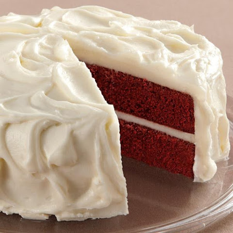 Red Velvet Cake with Cream Cheese Icing