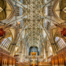 York Minster interior by Joel Jones - Buildings & Architecture Places of Worship ( york minster, minster, england, catholic, church, place of worship, cathedral, york )