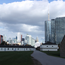 Toronto Fort York  by Reuben Nelson - City,  Street & Park  Skylines ( fort york, americcan war with britain, american invansion of canada, toronto, war of 1812,  )