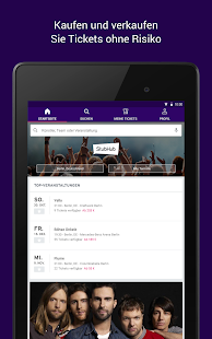 StubHub – Event-Tickets Screenshot