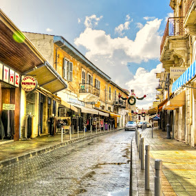 by Christos Psevdiotis - City,  Street & Park  Street Scenes ( car, sky, hdr, street, old town )