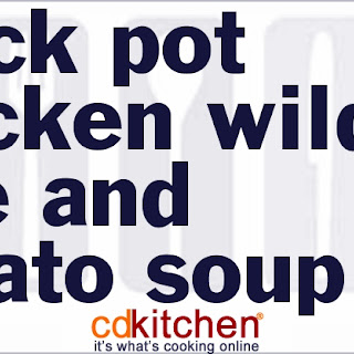 Slow Cooker Chicken Wild Rice And Potato Soup