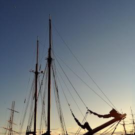 by Octav Negrea - Transportation Boats