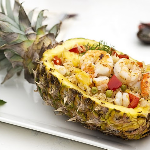 Prawn And Pineapple Fried Rice