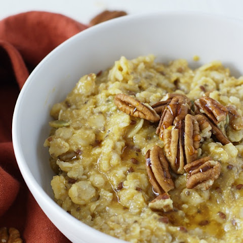 Sweet Potato and Maple Pecan Oatmeal