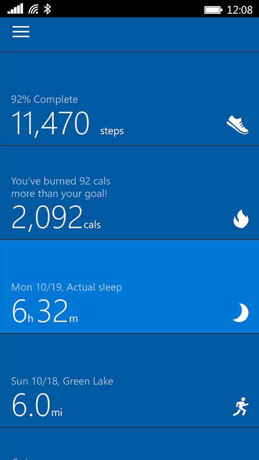 Microsoft Band Screenshot 0