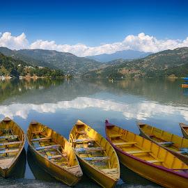 by Gangaraj Sunuwar - Transportation Boats (  )