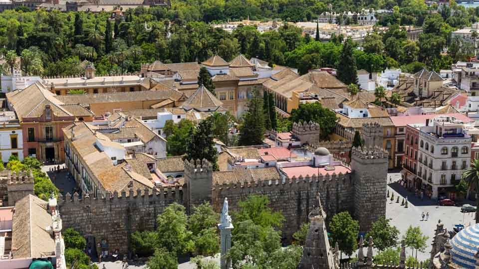 Visitas nocturnas al Alcázar de Sevilla