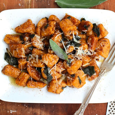 Sweet Potato Gnocchi with Browned Butter Sage Sauce