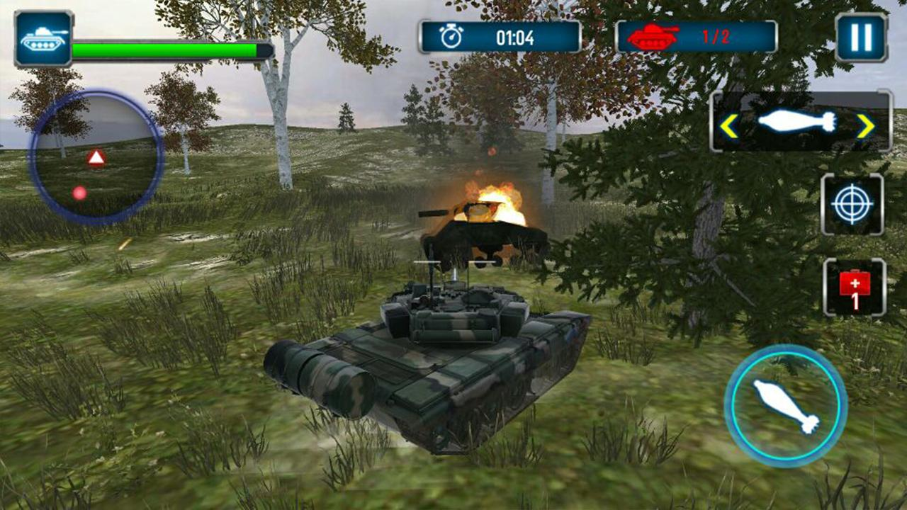 Tank Strike 3D Screenshot 2