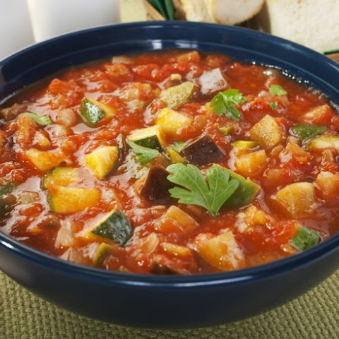 Fabulous Pressure Cooker Vegetable Soup