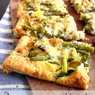 Asparagus and Leek Tart