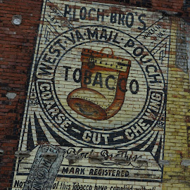 Mail Pouch Tobacco by Michael Harris - Buildings & Architecture Public & Historical ( old buildings, mail pouch, advertising )