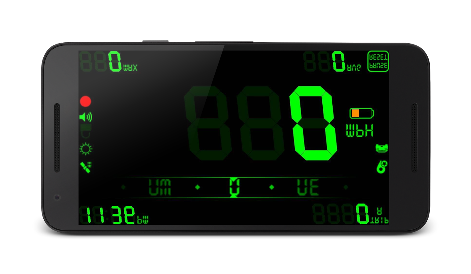 DigiHUD Pro Speedometer Screenshot 2