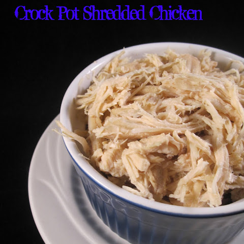 Crock Pot Shredded Chicken