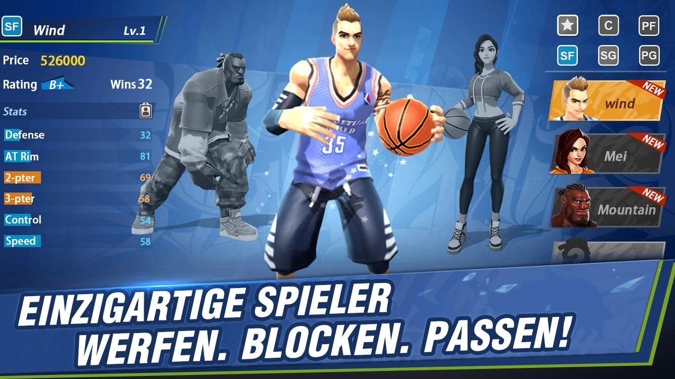 Hoop Legends: Slam Dunk android spiele download