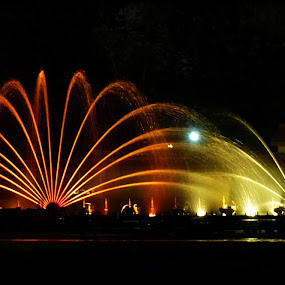 Musical Fountain by Dipyaman Santra - City,  Street & Park  Fountains