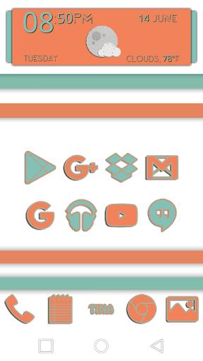 Terrific Tina Icons - screenshot