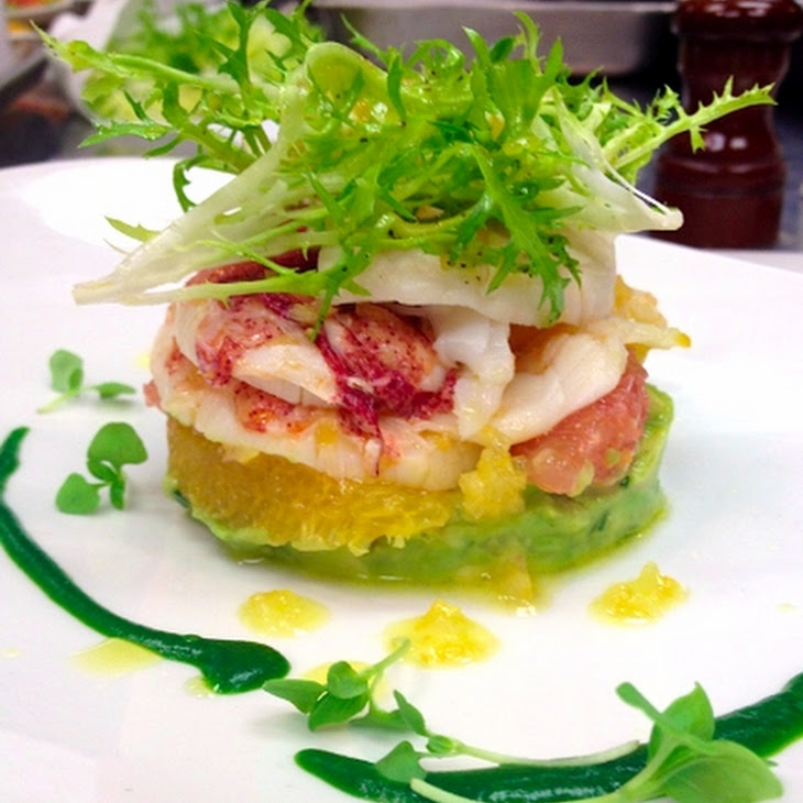 Poached Lobster Salad with Preserved Lemon Vinaigrette, Citrus and ...
