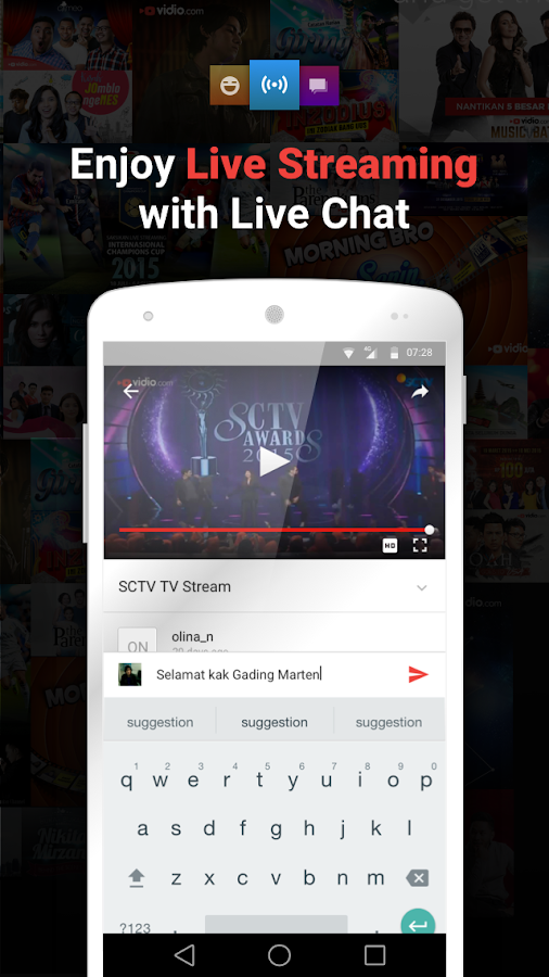 Vidio - Nonton TV & Video Screenshot 0
