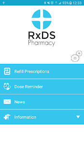 RxDS Pharmacy - screenshot