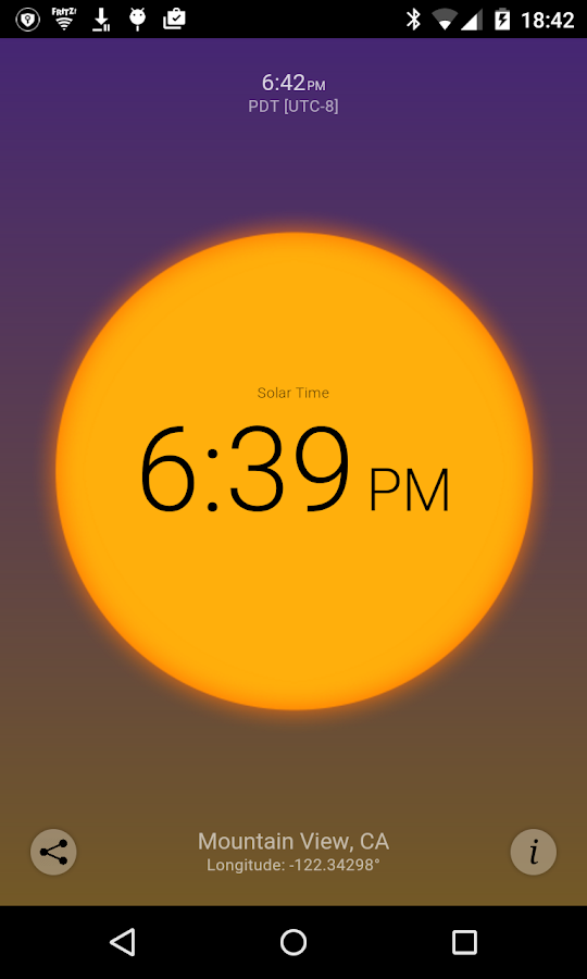 Solar Time Screenshot 0