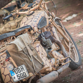 BSA  by Mario Borg - Transportation Motorcycles ( ww2, bsz, military )