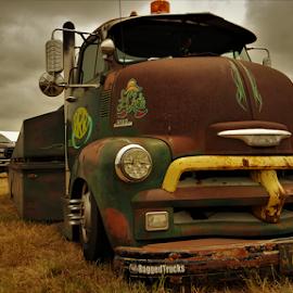 La Chata by Benito Flores Jr - Transportation Automobiles ( ribsandrods, chevrolet, hauler, texas, car show )