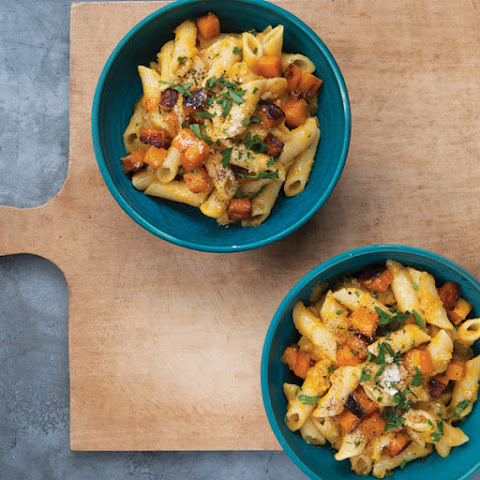 Penne with Roasted Butternut Squash