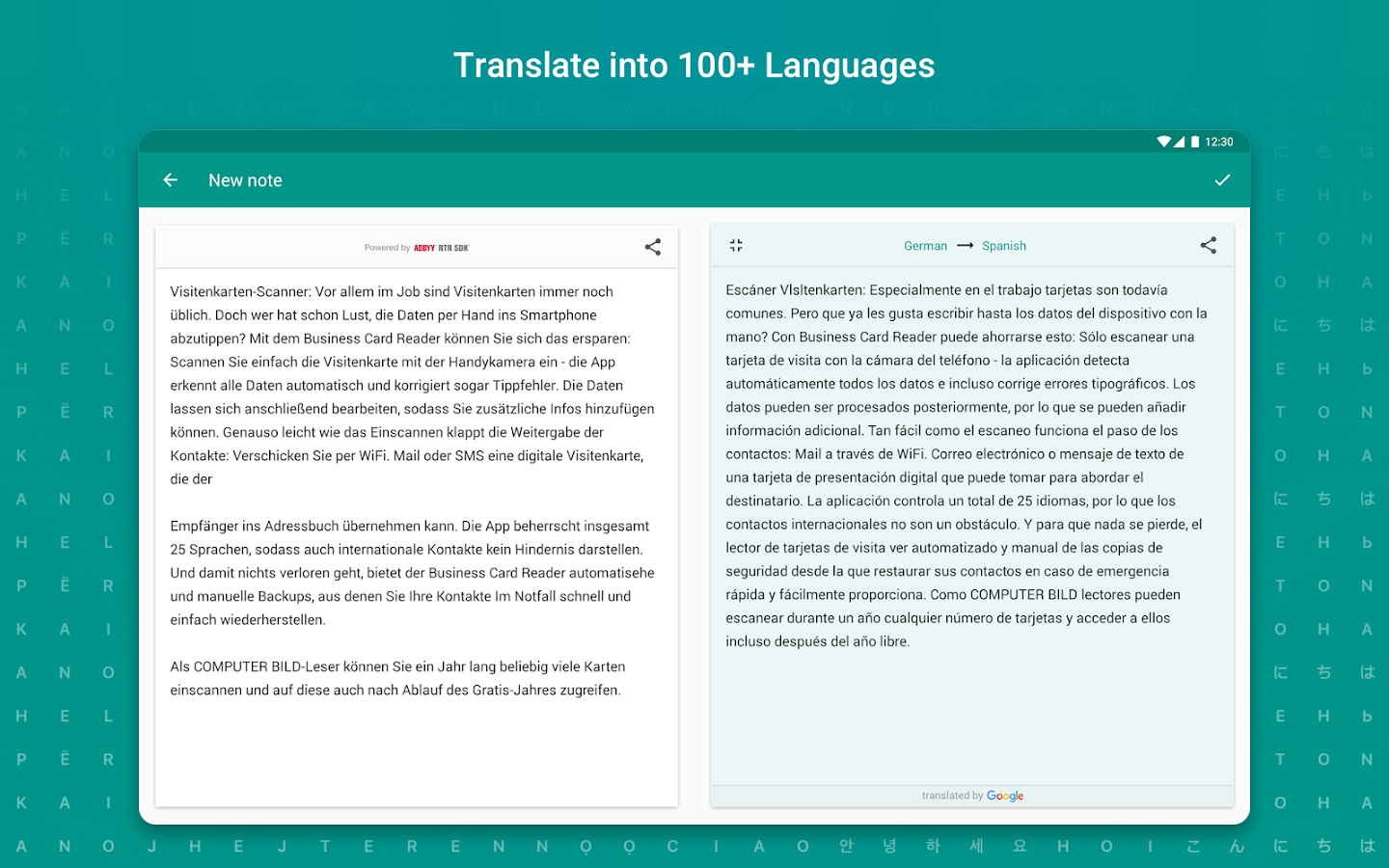 TextGrabber – image to text: OCR & translate photo Screenshot 8