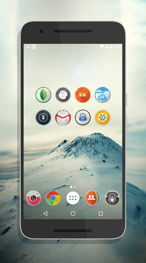 SwishHD - Icon Pack Screenshot