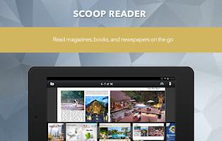 Screenshot of SCOOP Newsstand