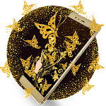Luxury Gold Butterfly Edition Icon
