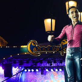 Performer at The Venetian Macau by Bebe Leong - People Musicians & Entertainers