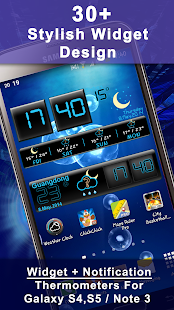 Weather Rise Clock 30+ Widgets- screenshot thumbnail