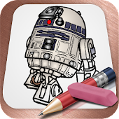 App Drawing Lesson Chibi Star Wars apk for kindle fire
