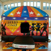 Disco Dome Bouncy Castle for Hire