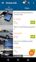 Screenshot of OLX Local Classifieds