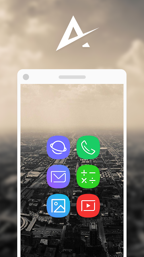 Aspire UX S8 - Icon Pack Screenshot 0